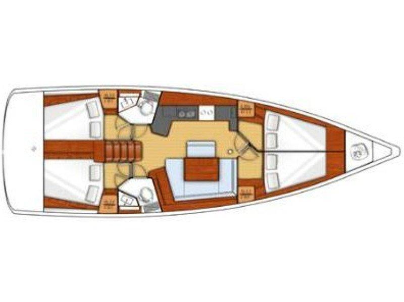 Oceanis 45 (BARBARELLA II) Plan image - 4