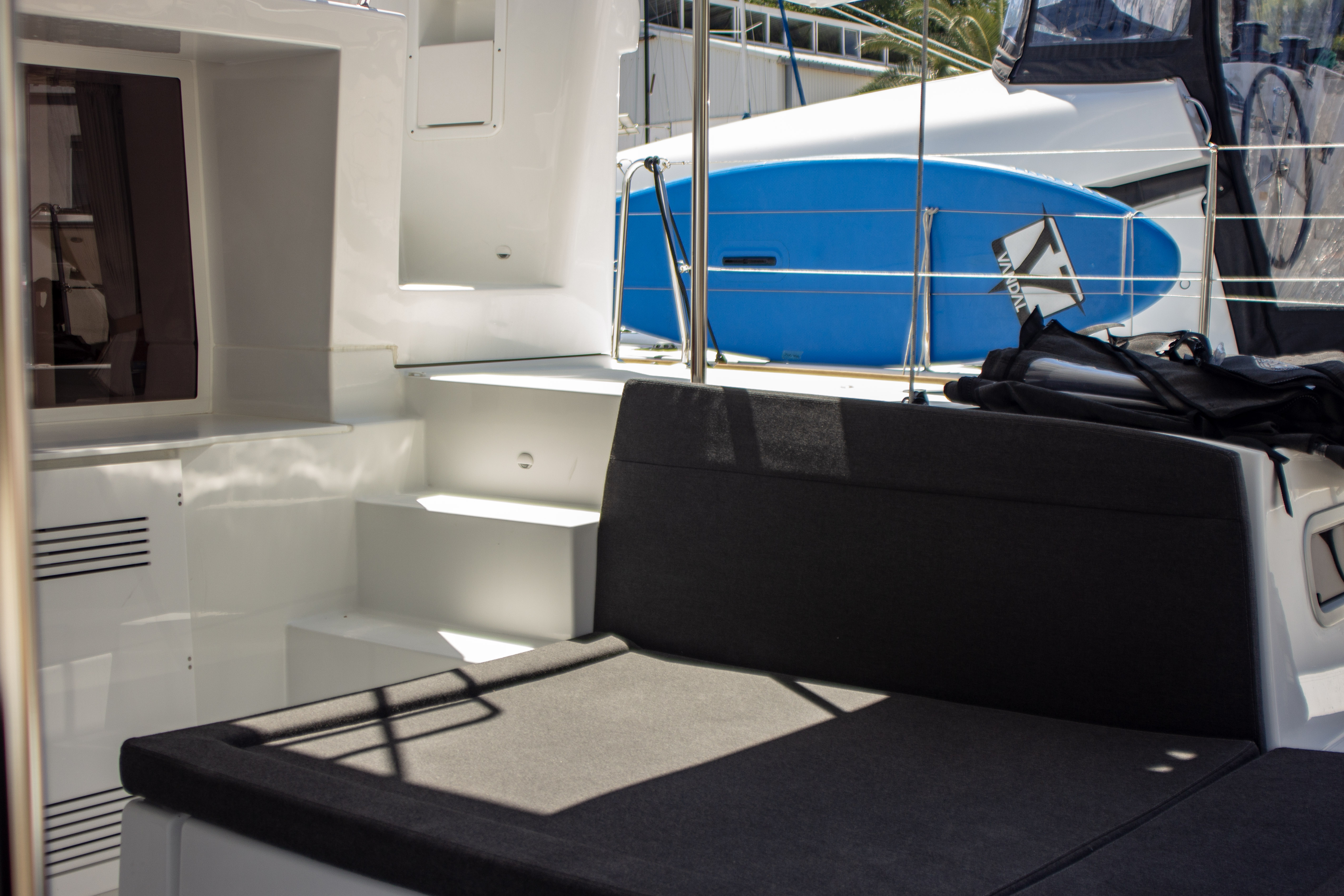 Lagoon 450 F (2018) equipped with generator, A/C ( (MALA MARE)  - 6