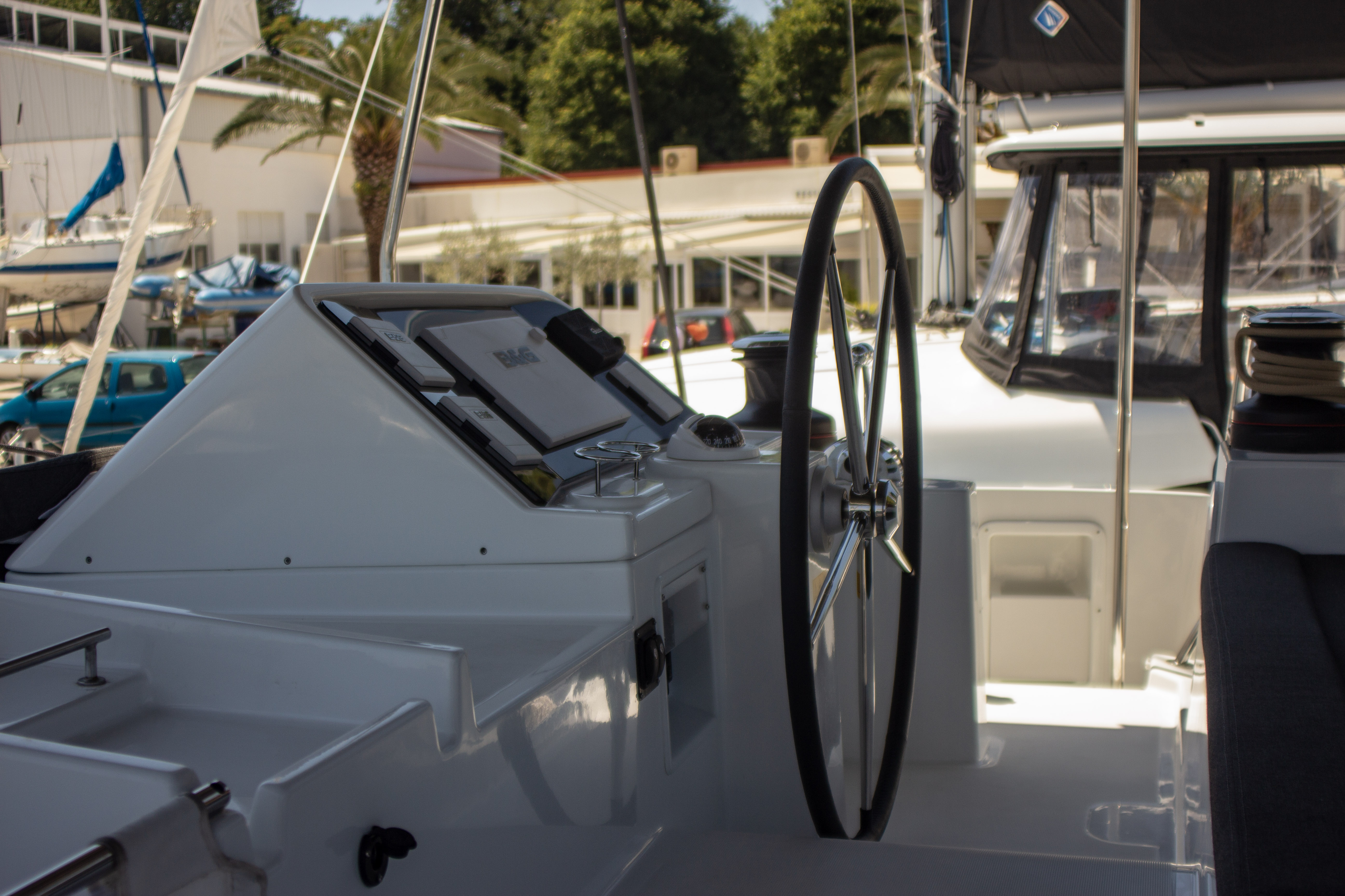 Lagoon 450 F (2018) equipped with generator, A/C ( (MALA MARE)  - 3