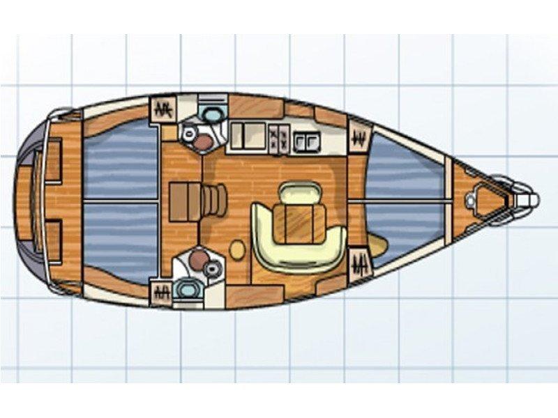 Sun Odyssey 45 (10) (Kaja) Plan image - 15