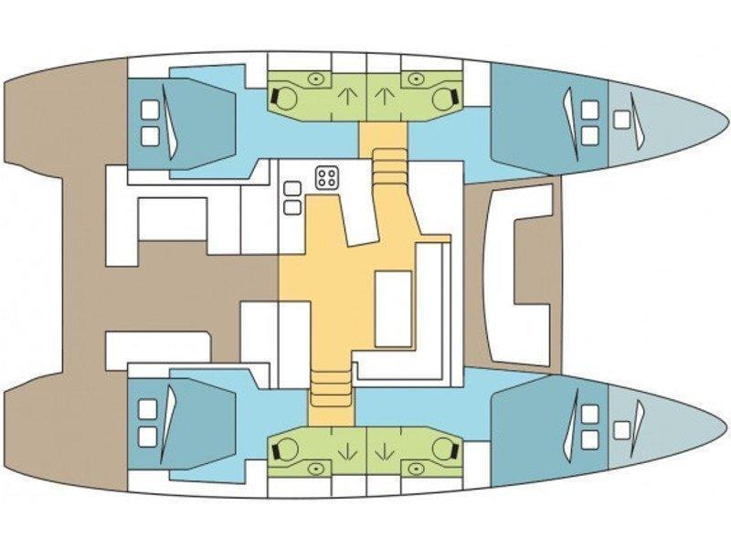 Lagoon 450 Sport (Nathalie) Plan image - 27