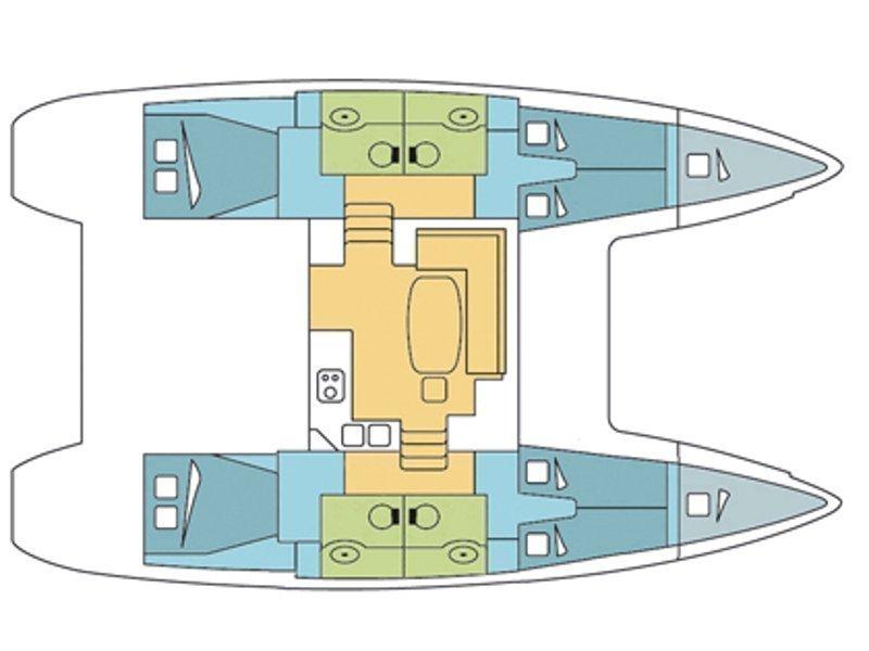 Lagoon 400 S2 (Rapala) Plan image - 13