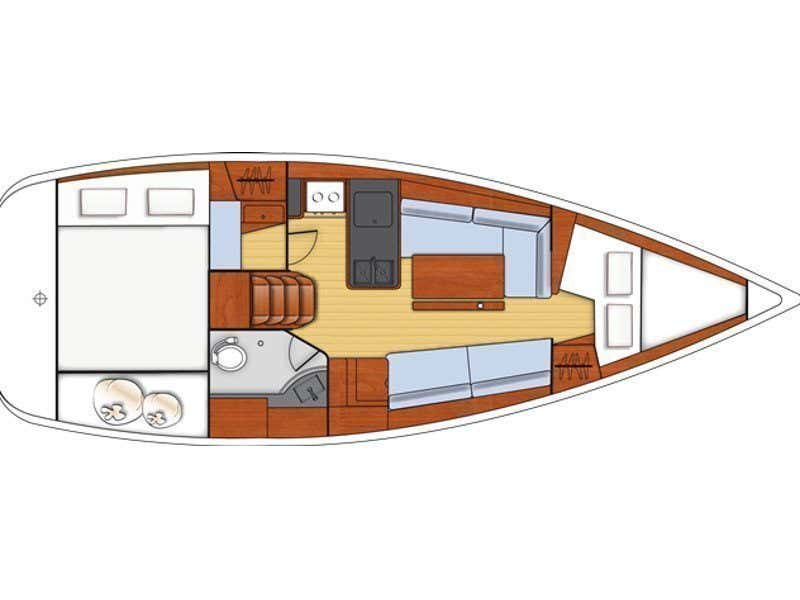 Oceanis 31 (So-Ni) Plan image - 1