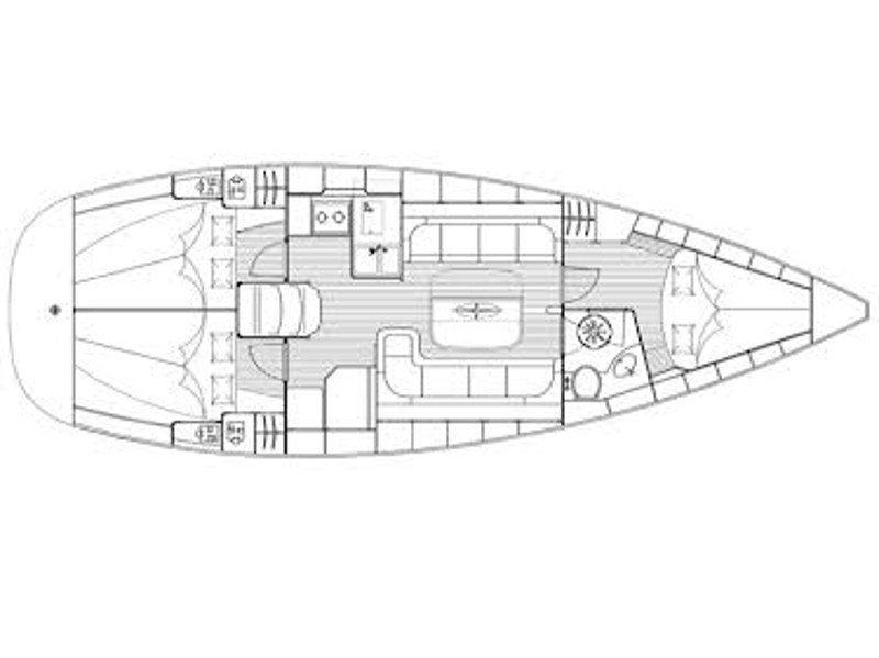 Bavaria 37 Cruiser (Veja) Plan image - 7