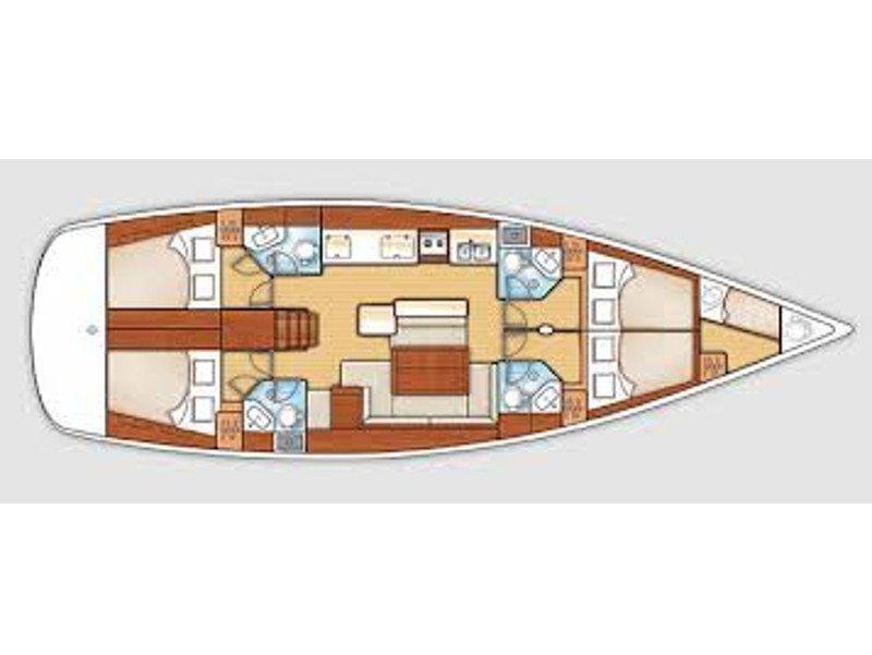 Oceanis 50 Family (Promise) Plan image - 2