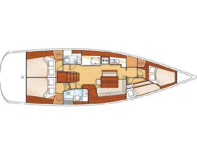 Oceanis 46 (Myron) Plan image - 1