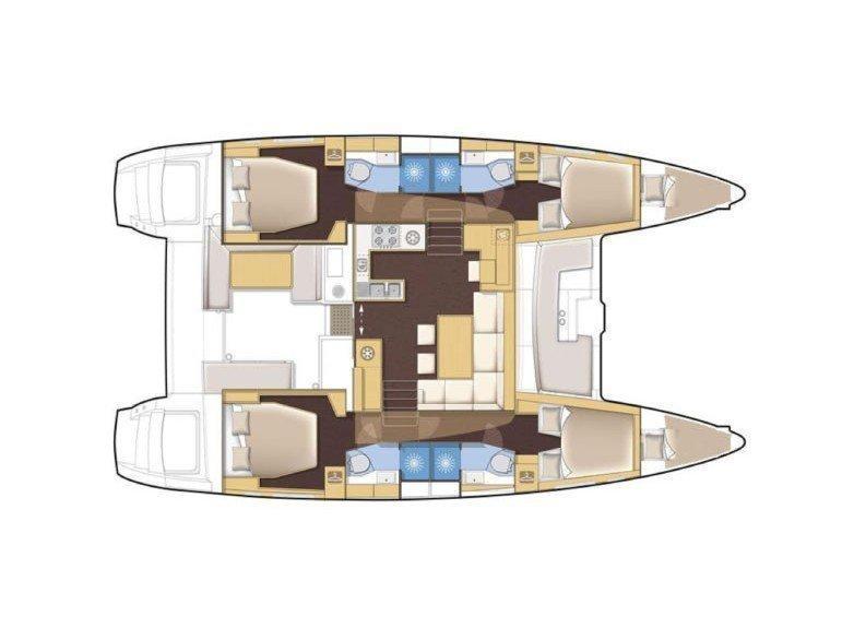 Lagoon 450 (Marmar) Plan image - 6