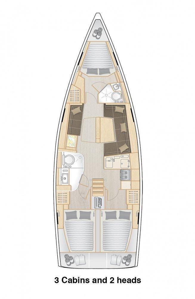 Hanse 418 (AZUR)  - 3