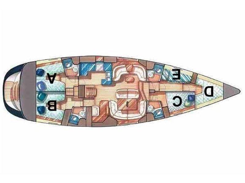 Sun Odyssey 54DS (Felicita) Plan image - 13
