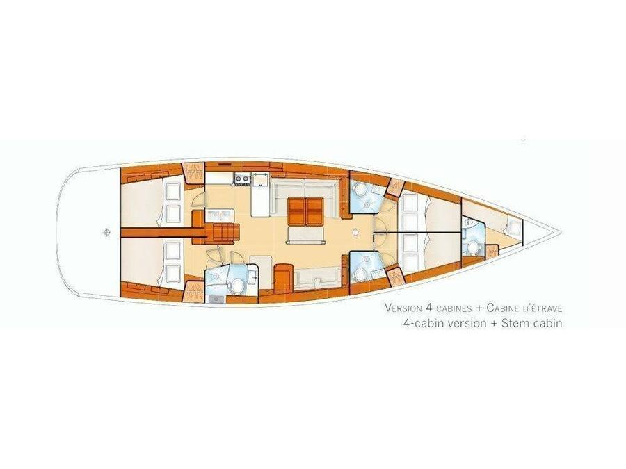 Oceanis 54 (Capt John) Plan image - 1