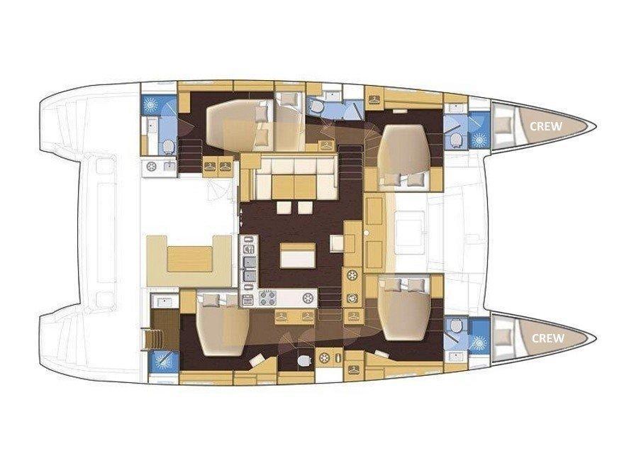 Lagoon 560 (ARCTIC QUEEN) Plan image - 11