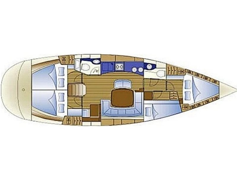 Bavaria 44 (Nil Mare) Plan image - 21