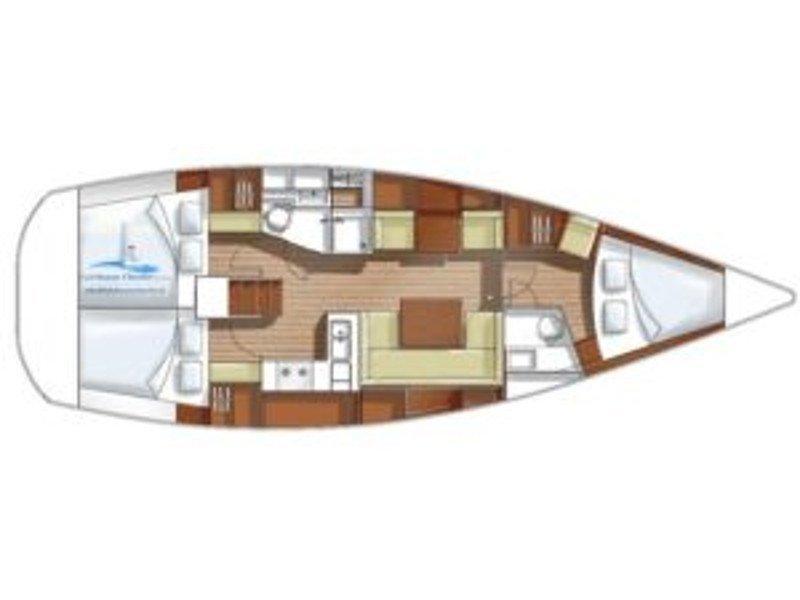 Hanse 400e (Lady) Plan image - 1