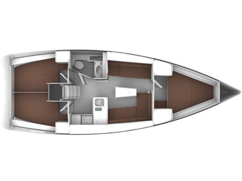 Bavaria 37 Cruiser (HM INO) Plan image - 2