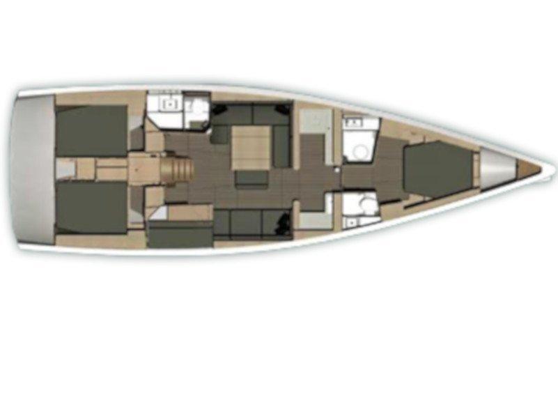 Dufour 512 Grand Large (Jana) Plan image - 3