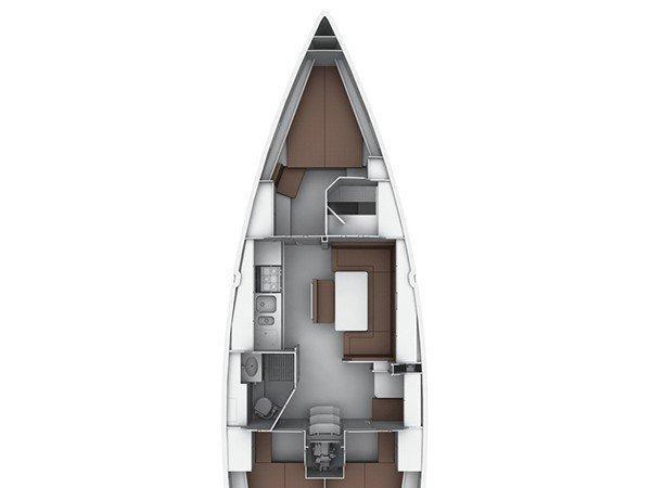 Bavaria 40 Cruiser S (CHASQUI) Plan image - 10