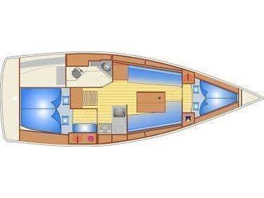 Bavaria Cruiser 32 (Cessar) Plan image - 9
