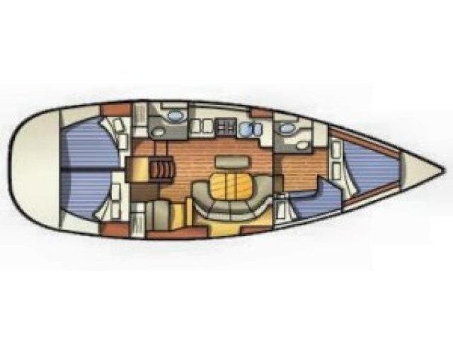 Oceanis 411 (IOS) Plan image - 8