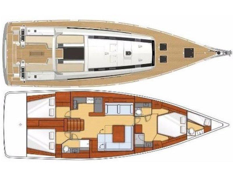 Oceanis 55 (V) Plan image - 2