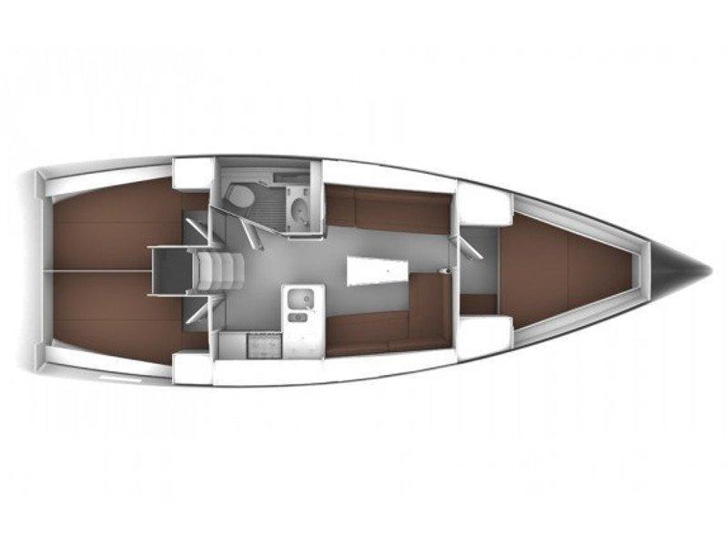 Bavaria Cruiser 37 (MAPALIMI) Plan image - 6