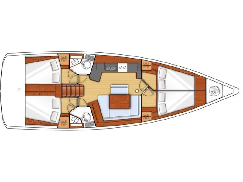 Oceanis 45 (Atlantica) Plan image - 14