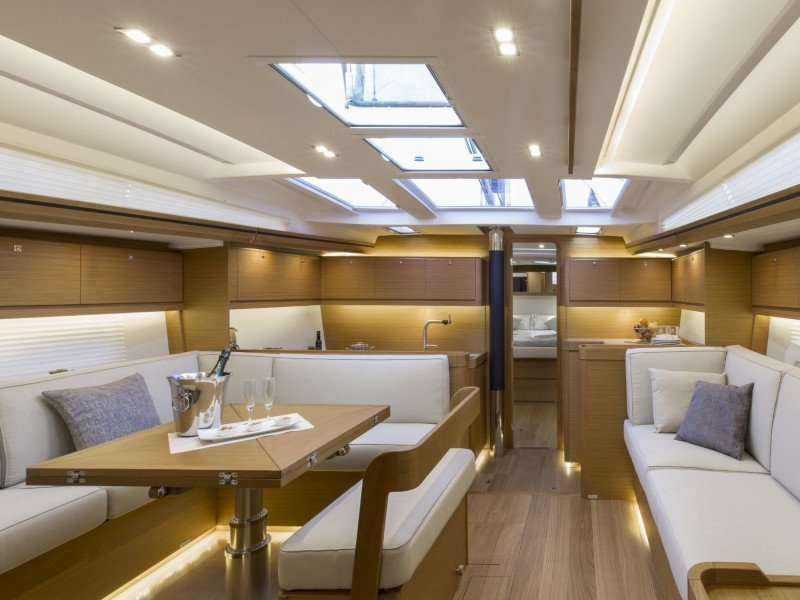 Dufour 520 Grand Large (Mar de Ardora) Interior image - 3