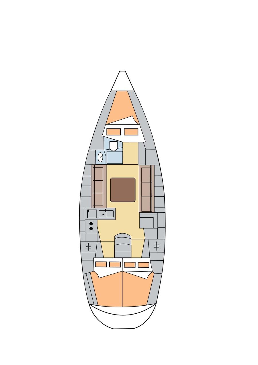 Bavaria 36 (Altair)  - 8