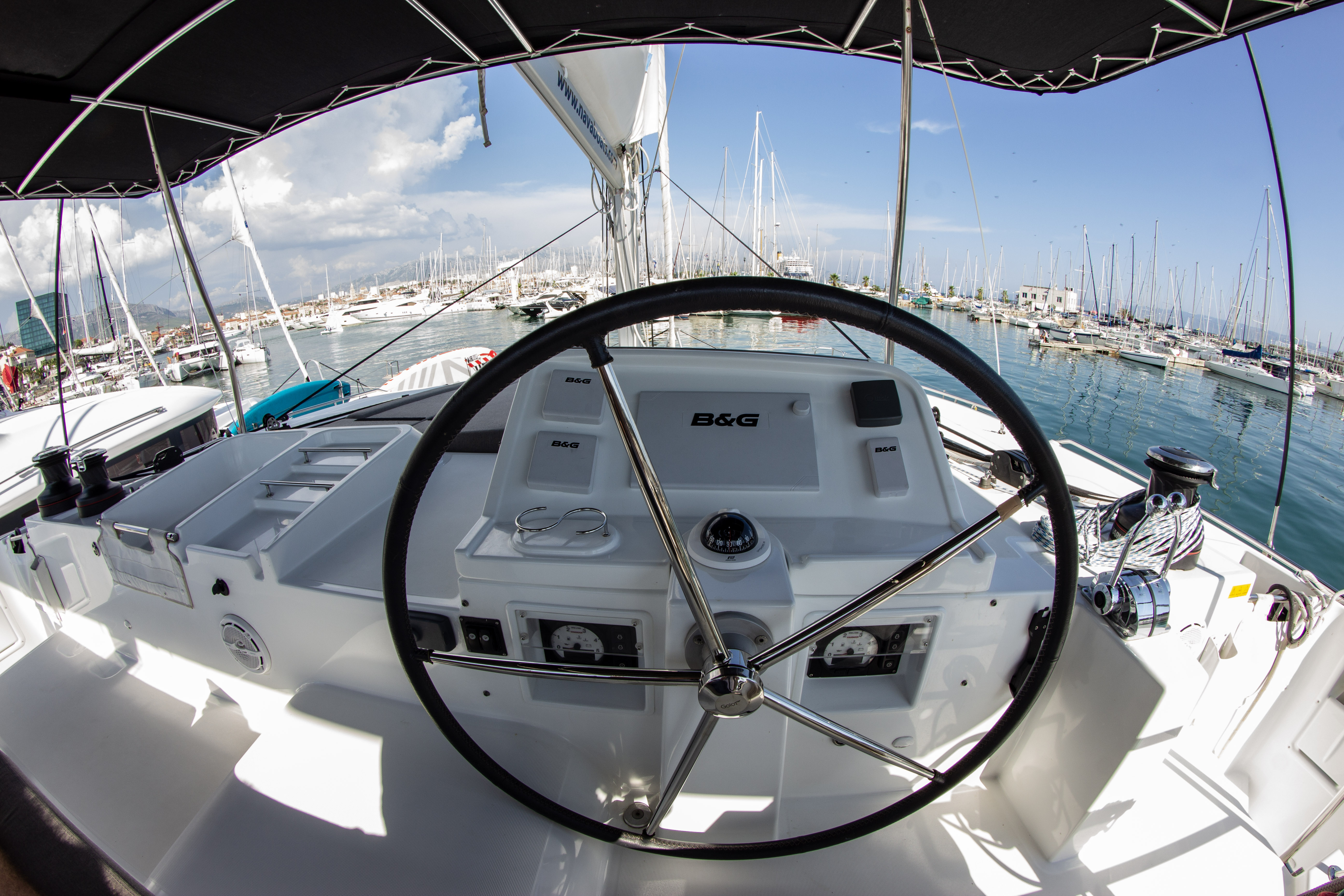Lagoon 450 (2016) equipped with generator, A/C (sa (SMILE I)  - 19