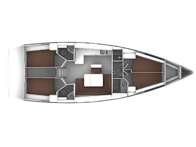 Bavaria 46 Cruiser (Mami) Plan image - 14