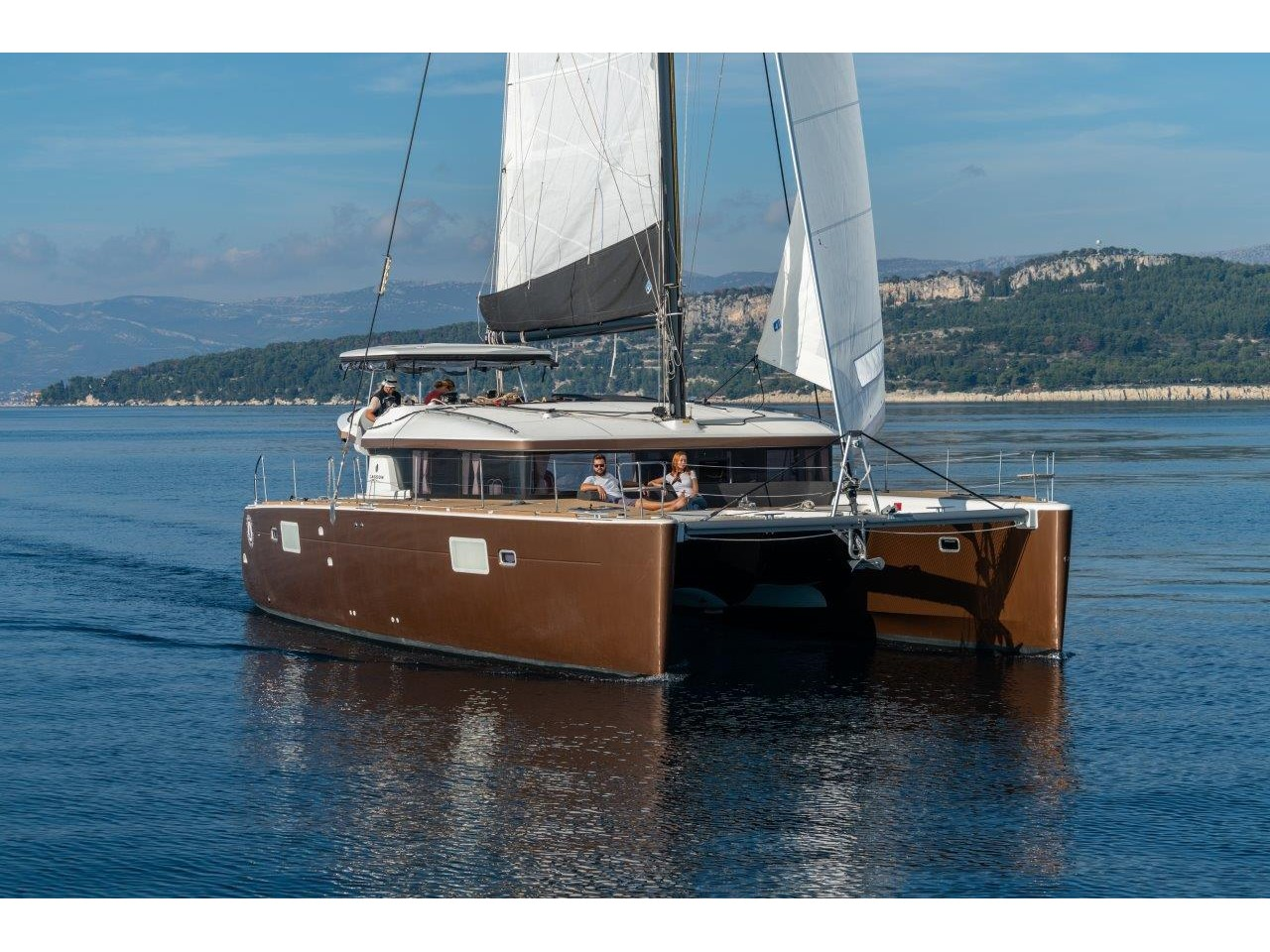 Lagoon 450 Sport LUX equipped with generator, A/C (PRINCESS SOFIA) Main image - 0