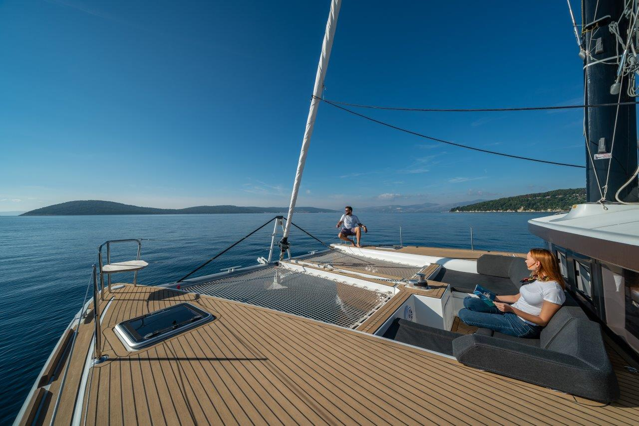 Lagoon 450 Sport LUX equipped with generator, A/C (PRINCESS SOFIA)  - 9