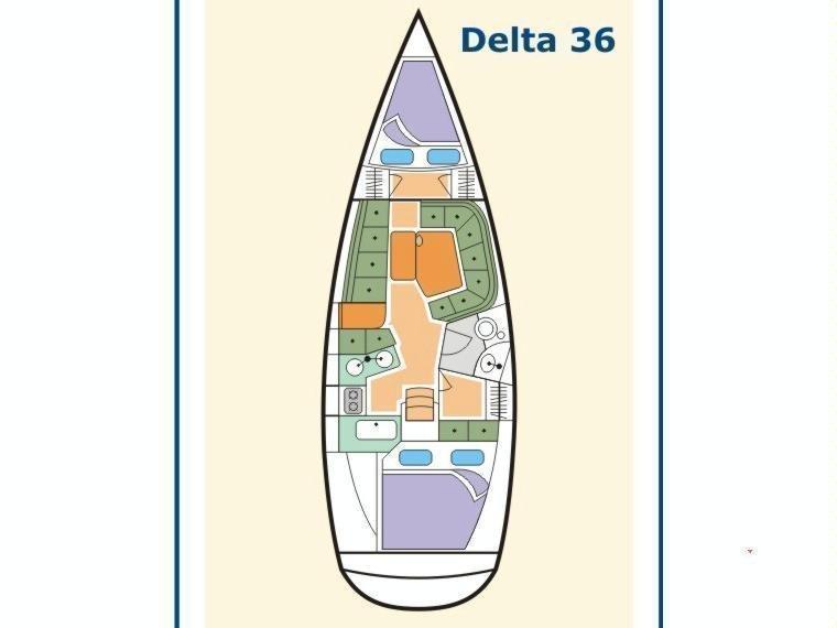 Delta 36 (Carcamano) Plan image - 3