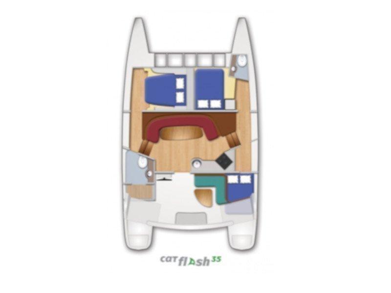 Catflash 35 (Dakota) Plan image - 4
