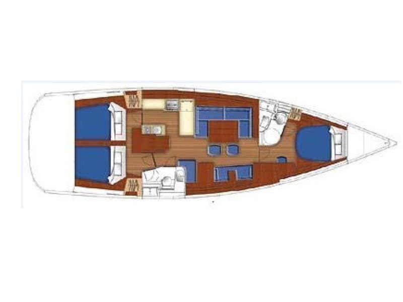 Beneteau 49 (Fix You) Plan image - 14