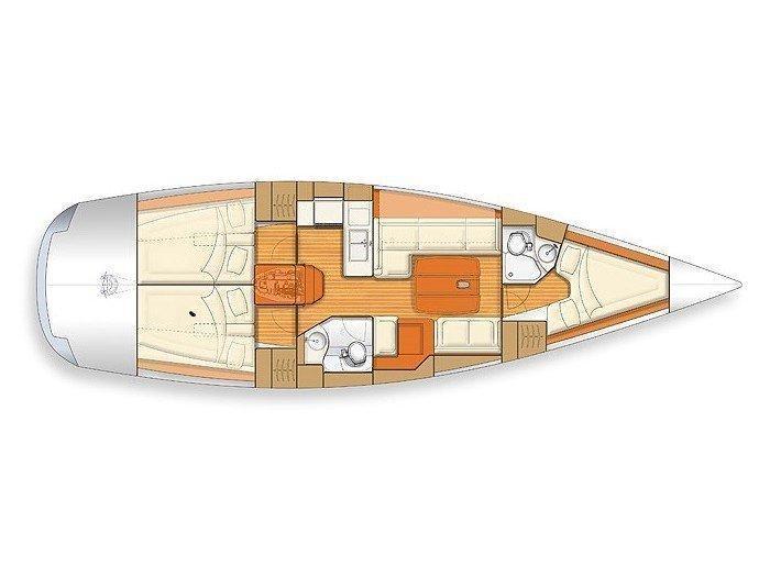 Salona 42 (Ramande) Plan image - 7