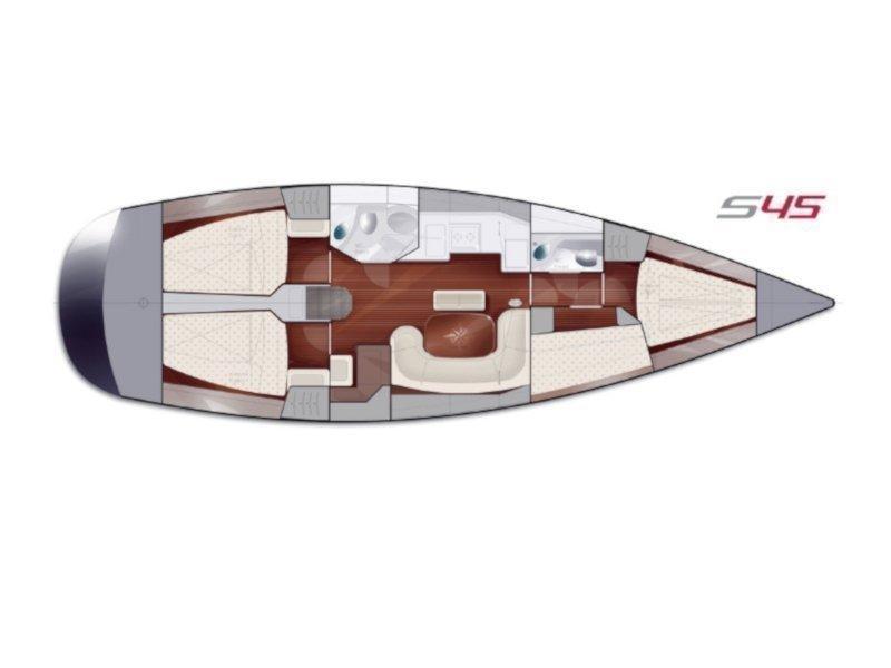 Salona 45 (Eol) Plan image - 24