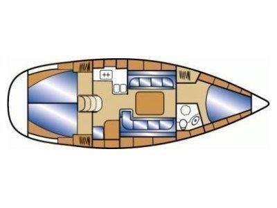 Bavaria Cruiser 37 (Diana) Plan image - 5