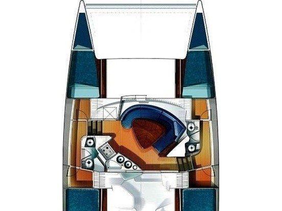 """FOUNTAIN PAJOT Lavezzi 40 """"VICTORIA"""" (Victoria) Plan image - 5"""