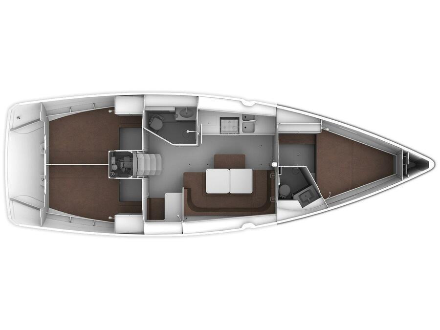 Bavaria Cruiser 41 (Dionysis) Plan image - 8