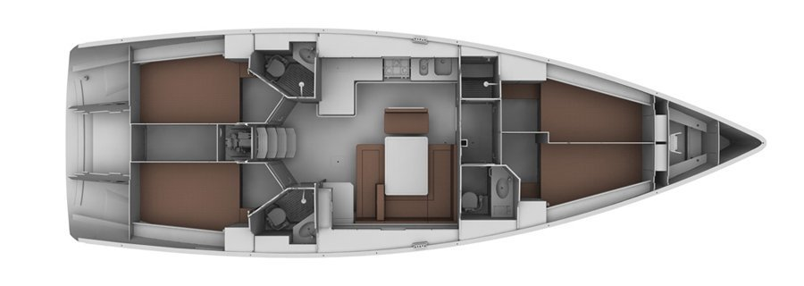 Bavaria Cruiser 45 (Blues Point) Plan image - 6
