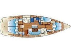 Bavaria 46 Cruiser (Joyful Wind) Plan image - 3
