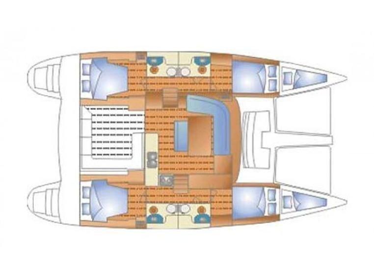 Lagoon 440  (Iris) Plan image - 23