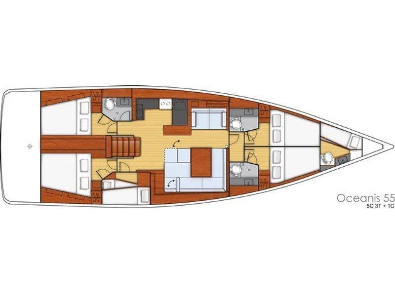 Oceanis 55 (Esther)  - 23