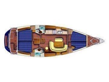 Sun Odyssey 45.2 (Old Trustworthy) Plan image - 1