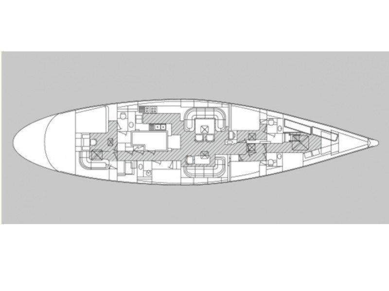 Nautor Swan 87 (Aspiration) Plan image - 8