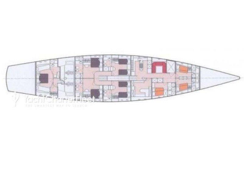 Perini 131 (La Numero Uno) Plan image - 1