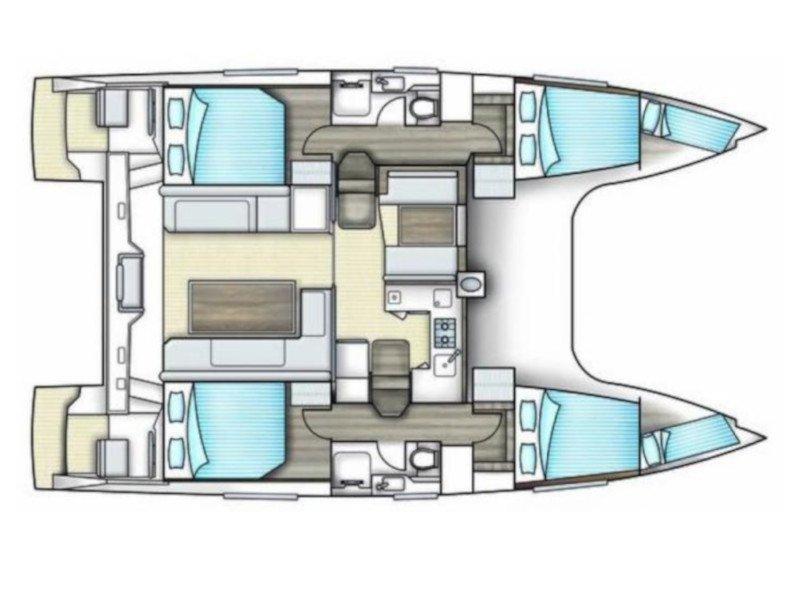 Nautitech Open 40 (Jetset 2) Plan image - 19