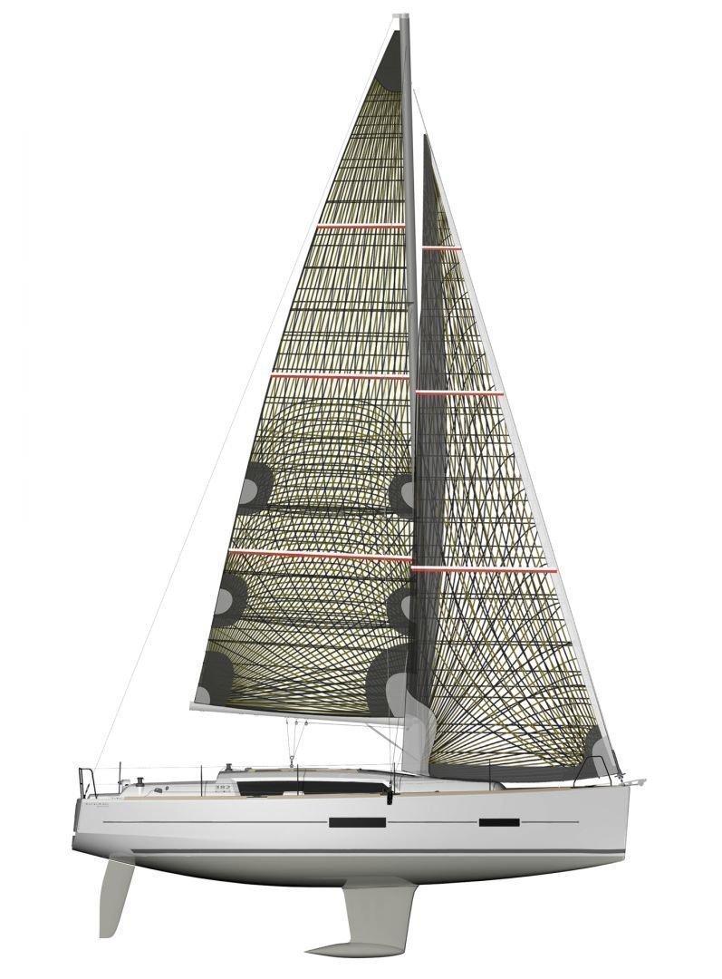 Dufour Grand Large 382 (Allegro) Plan image - 2
