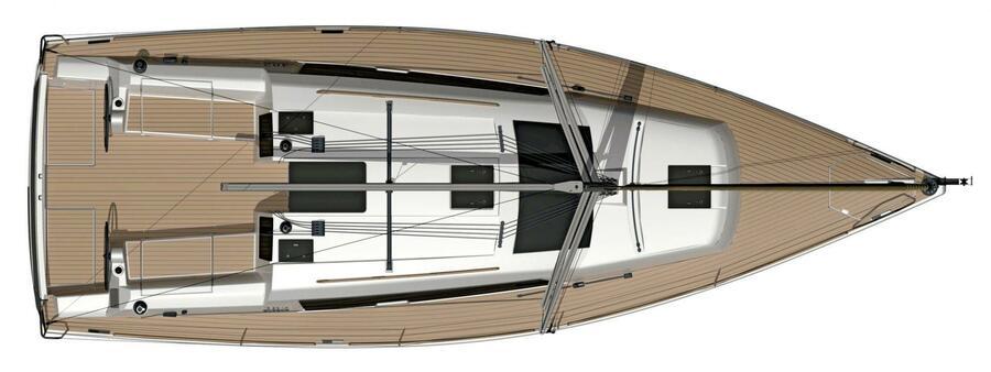 Dufour Grand Large 382 (Allegro) Plan image - 3
