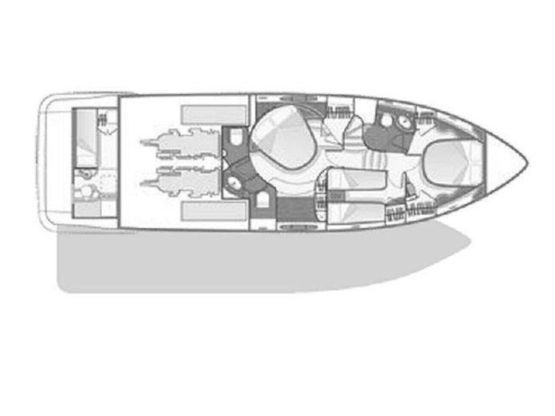 Azimut 55 Evolution (After 8) Plan image - 33